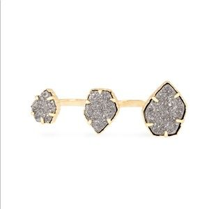 Kendra Scott Naomi Gold Double Ring